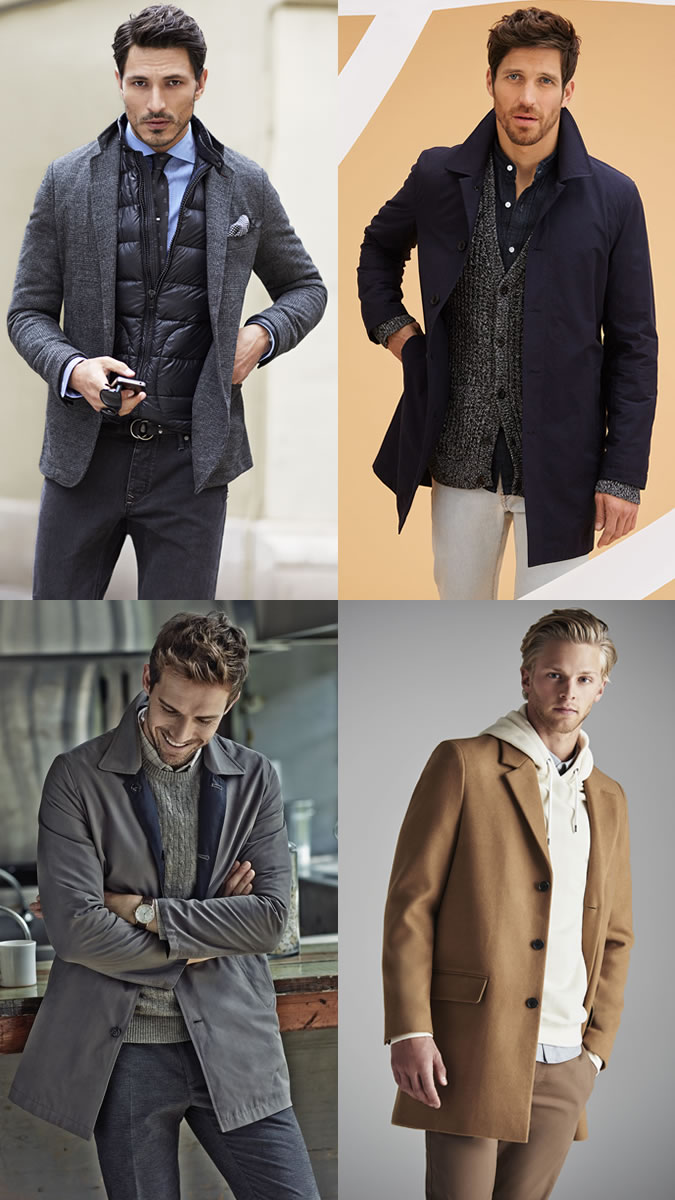 Men's Layering Lookbook Outfit Inspiration For Winter