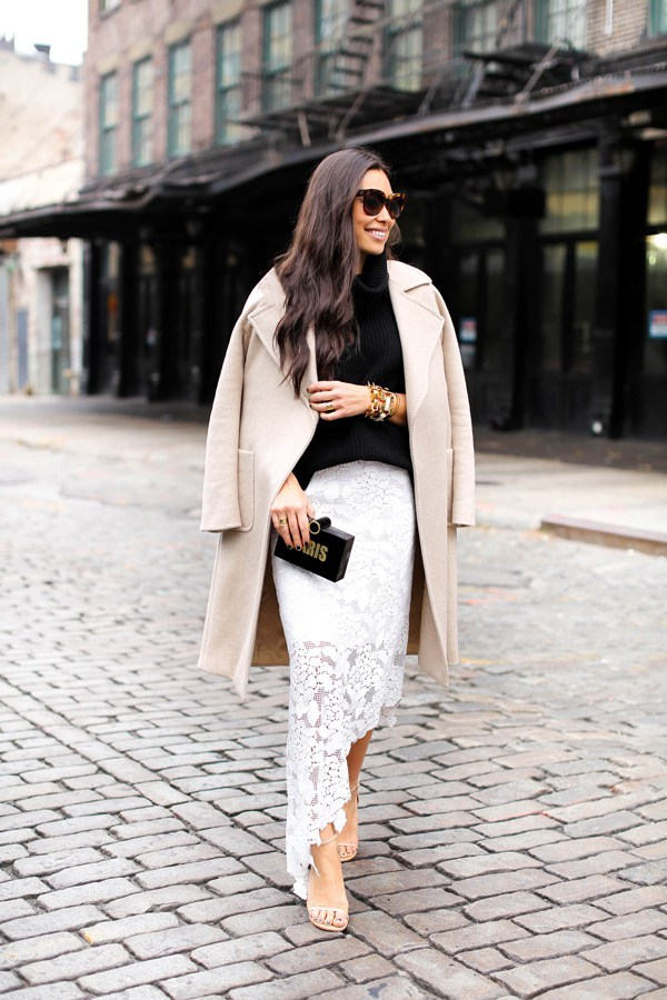 Photo: With Love From Kat http://withlovefromkat.com/tibi-lace-skirt/#title