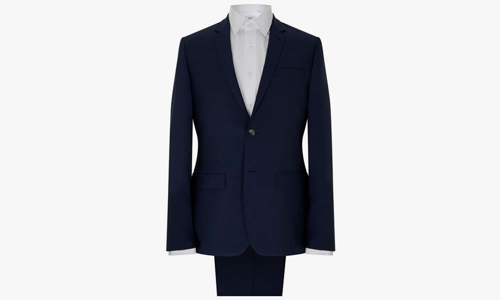 MR.START Rivington New Blue 2pc Suit